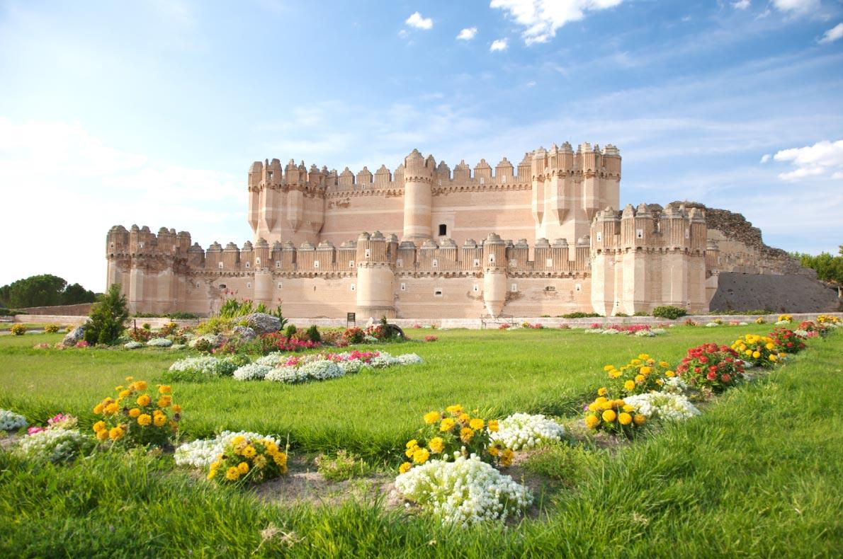 Best Castles in Spain - Coca Castle Copyright  Quintanilla  - European Best Destinations