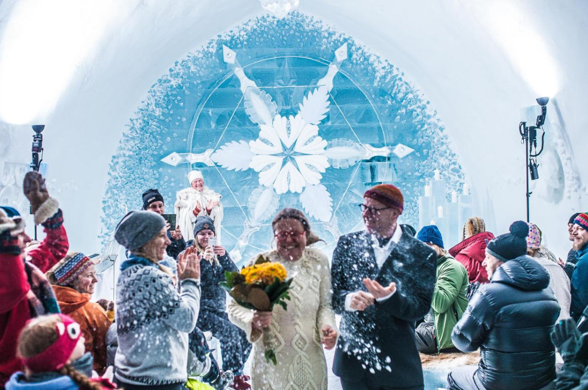 Best wedding venues in Europe - IceHotel.com  in Sweden - European Best Destinations