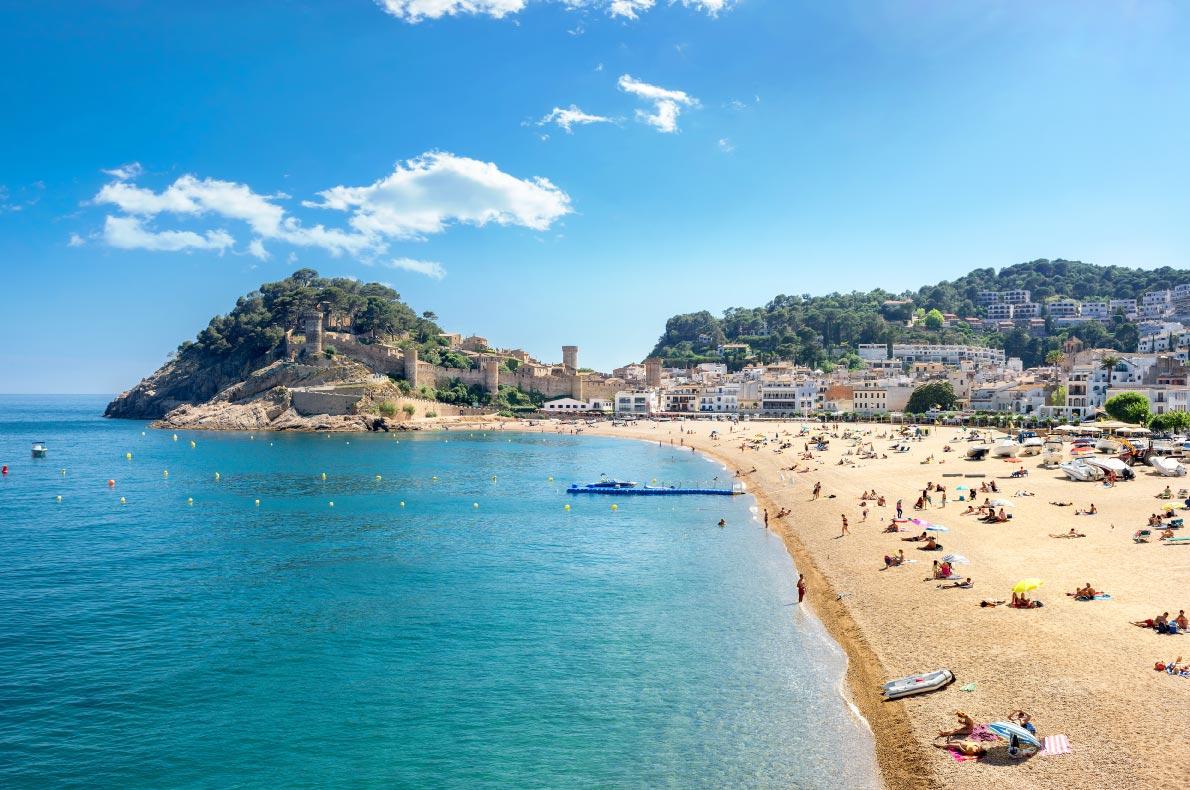 Best beaches in Spain - Tossa de Mar - Copyright  Valery Bareta  - European Best Destinations