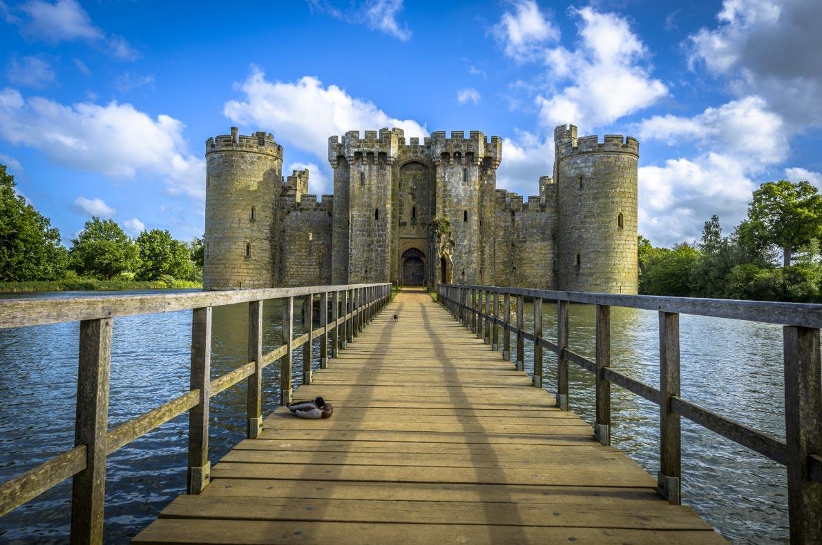 Best Castles in England - Bodiam Castle Copyright  Bargotiphotography - European Best Destinations