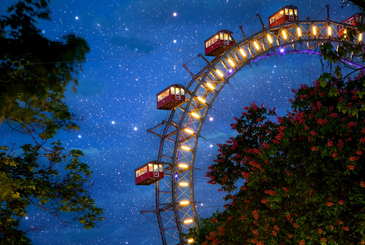 Prater Giant Wheel in Vienna   - Best destinations for a wedding proposal - Copyright Zoran Matic - European Best Destinations