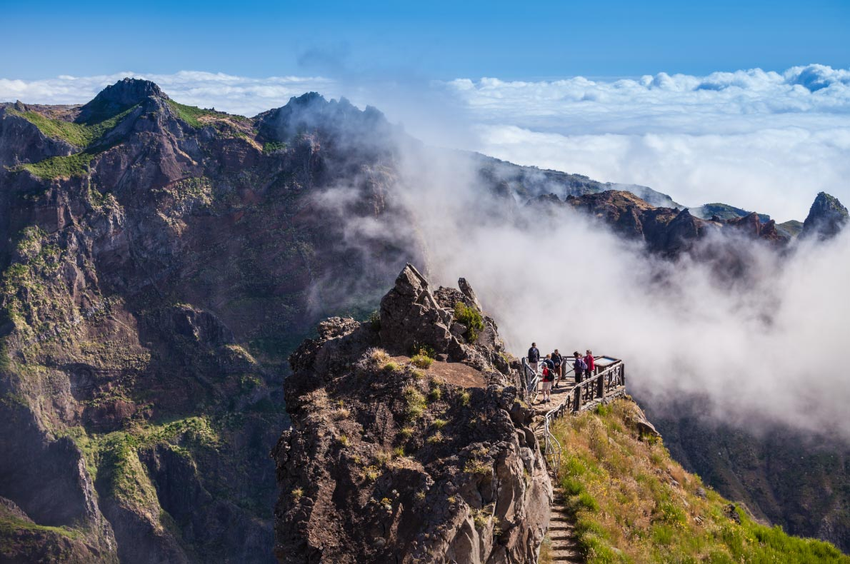 Best viewpoints in Madeira - Pico Arieiro Viewpoints - copyright saiko3p