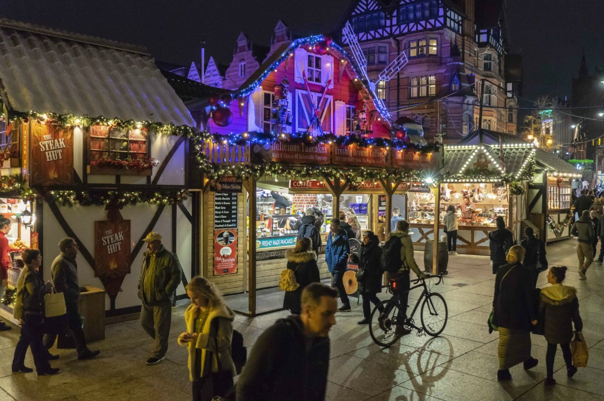 Best Christmas Markets in the United Kingdom - Nottingham Christmas Market - Copyright Visit Nottingham - European Best Destinations