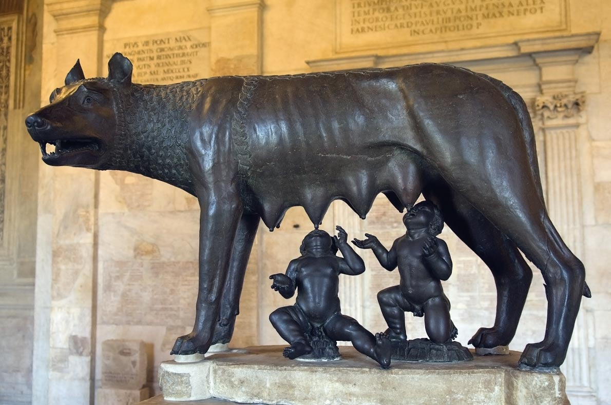 Romulus and Remus - Best Statues in Europe - Copyright irisphoto1 - European Best Destinations
