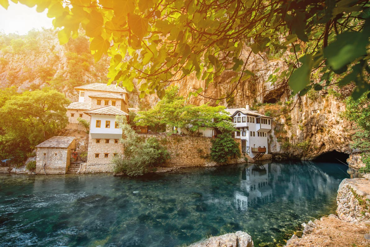Most beautiful landscapes in Europe -  Blagaj -  Copyright RossHelen - European Best Destinations