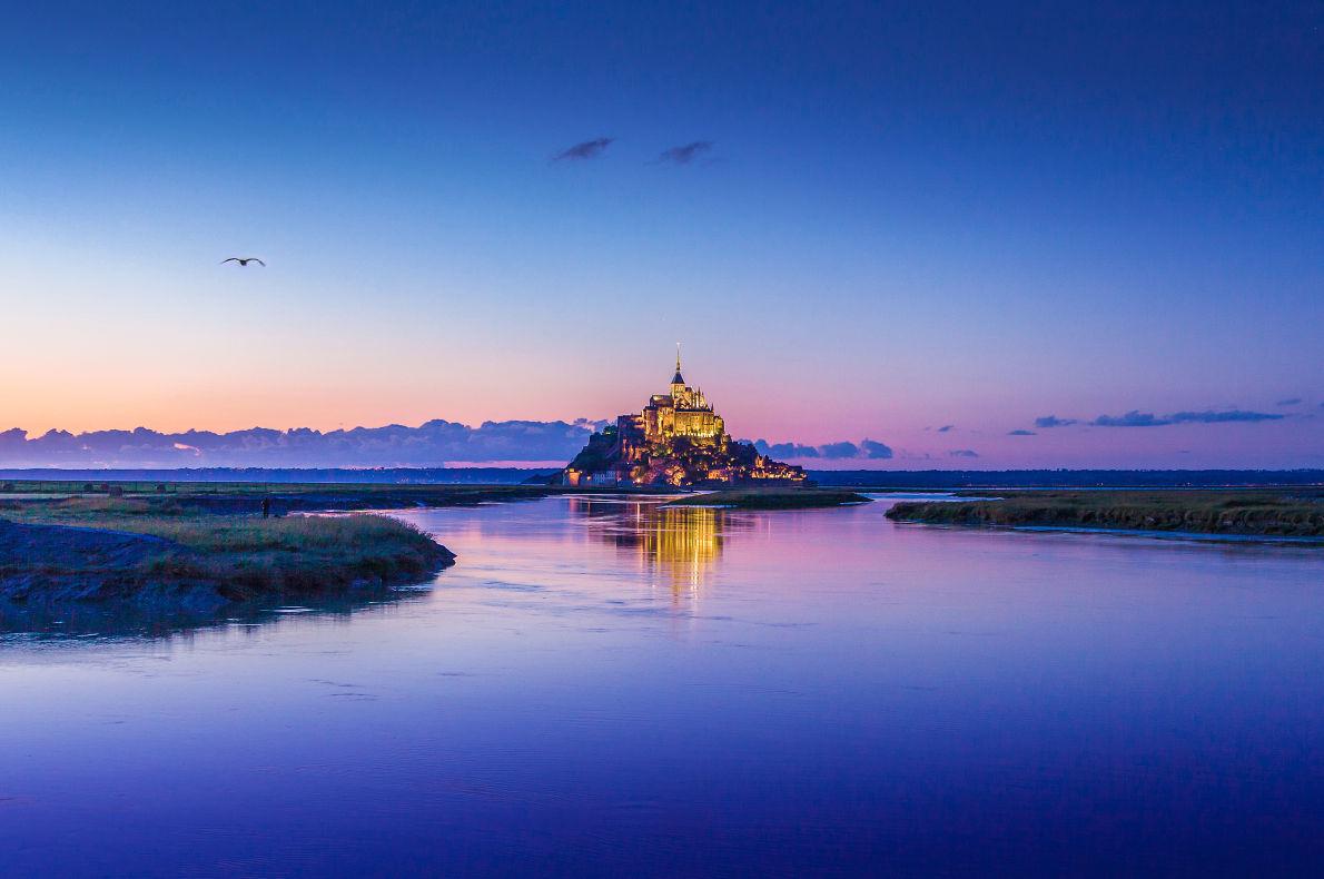 Mont Saint Michel - Best Fairytales destinations in Europe - Copyright  canadastock  - European Best Destinations