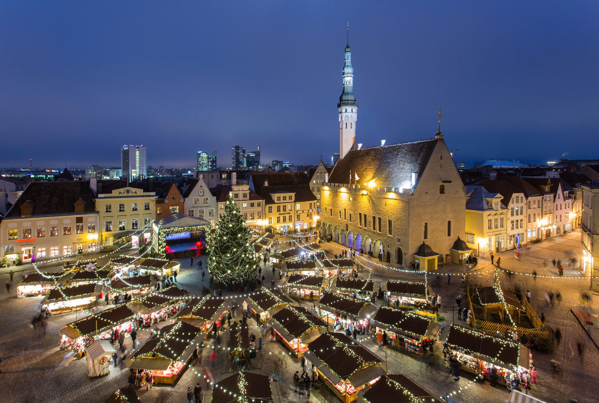 tallinn best christmas market in europe - Best European Cities For Christmas