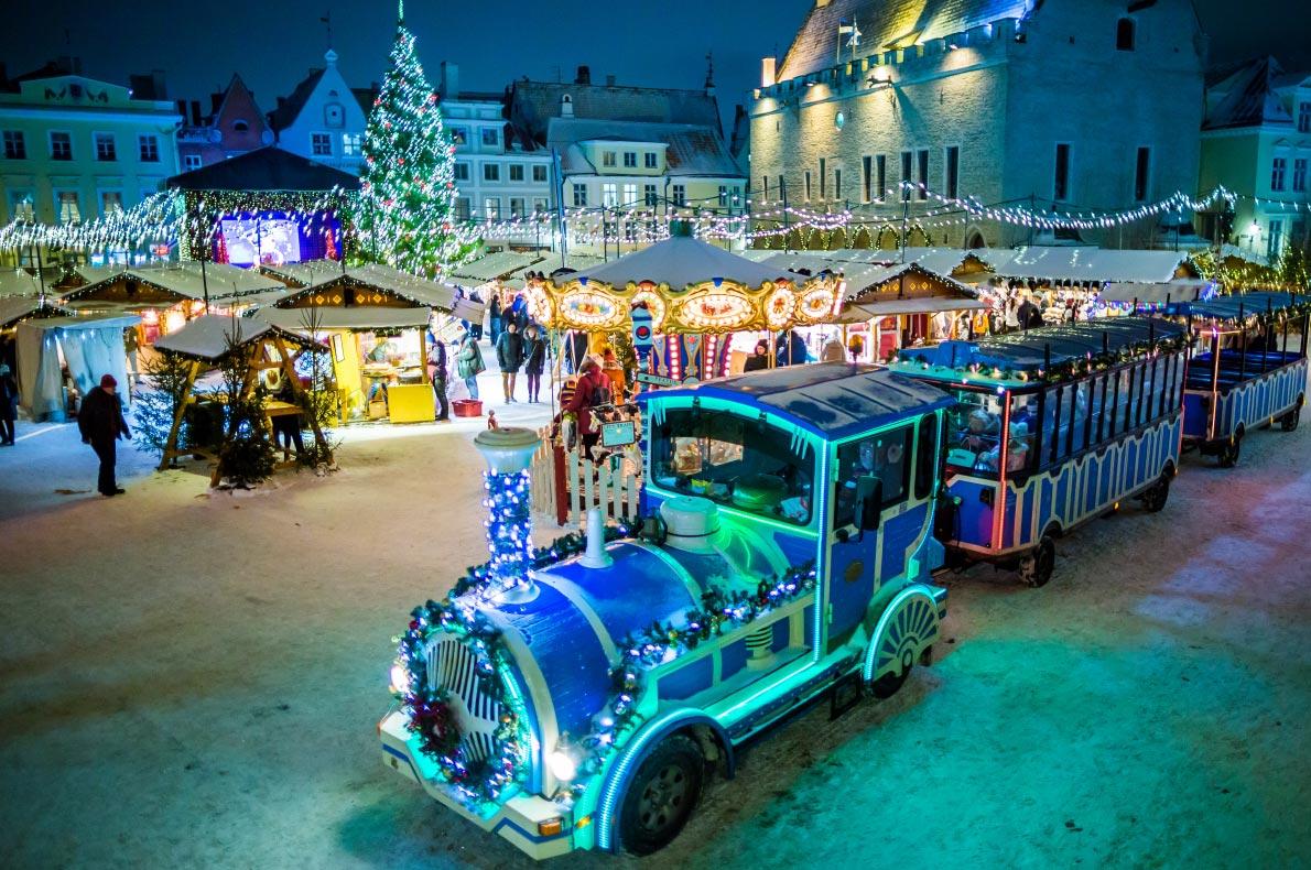 Tallinn Christmas Lights - Best Christmas illuminations in Europe - Copyright cge2010 - European Best Destinations