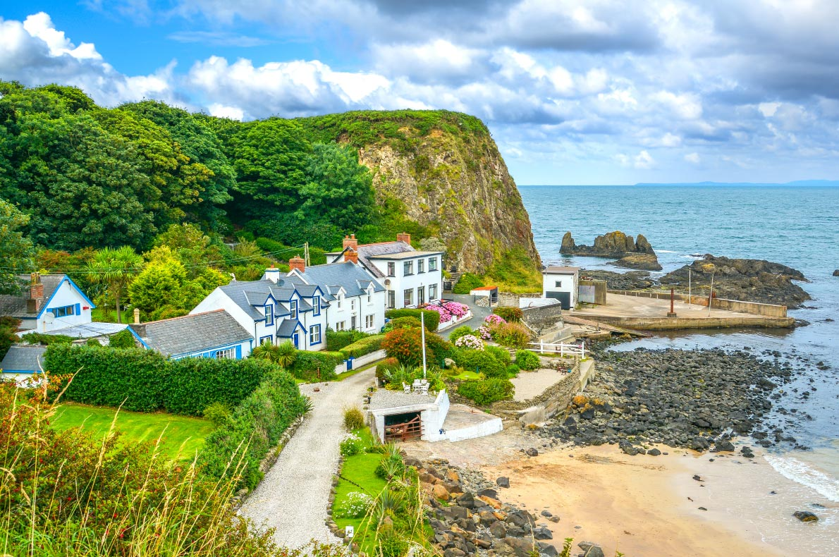 Best hidden gems in Ireland - Portbradden village copyright  Stefano_Valeri  - European Best Destinations