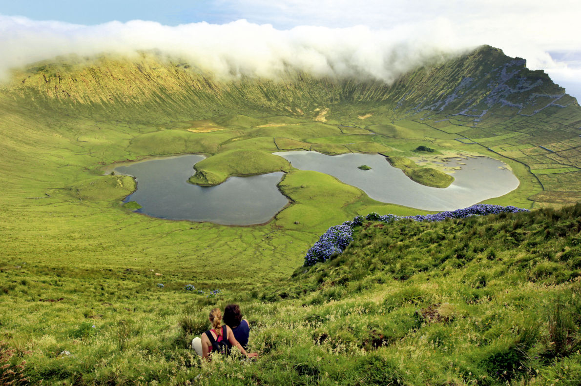Covid 19 Safest Destinations in Europe - Azores - Corvo Island - Copyright Visit Azores - European Best Destinations