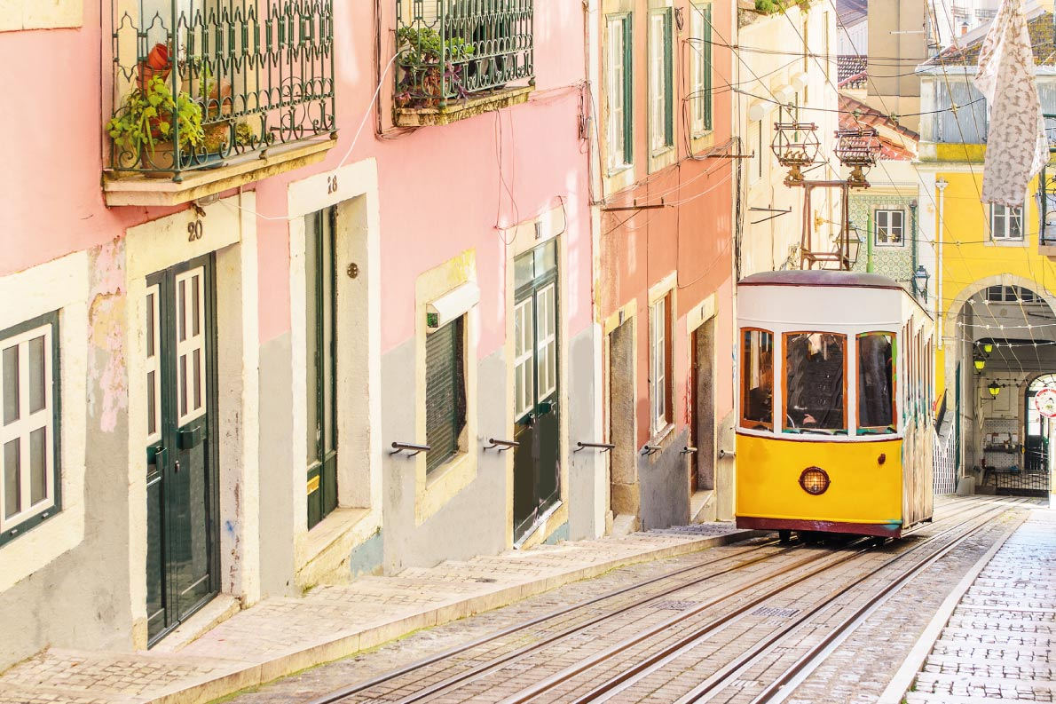 Colorful destinations in Europe   - Lisbon  - Best colorfull destinations in Europe - Copyright Marcin Krzyzak - European Best Destinations