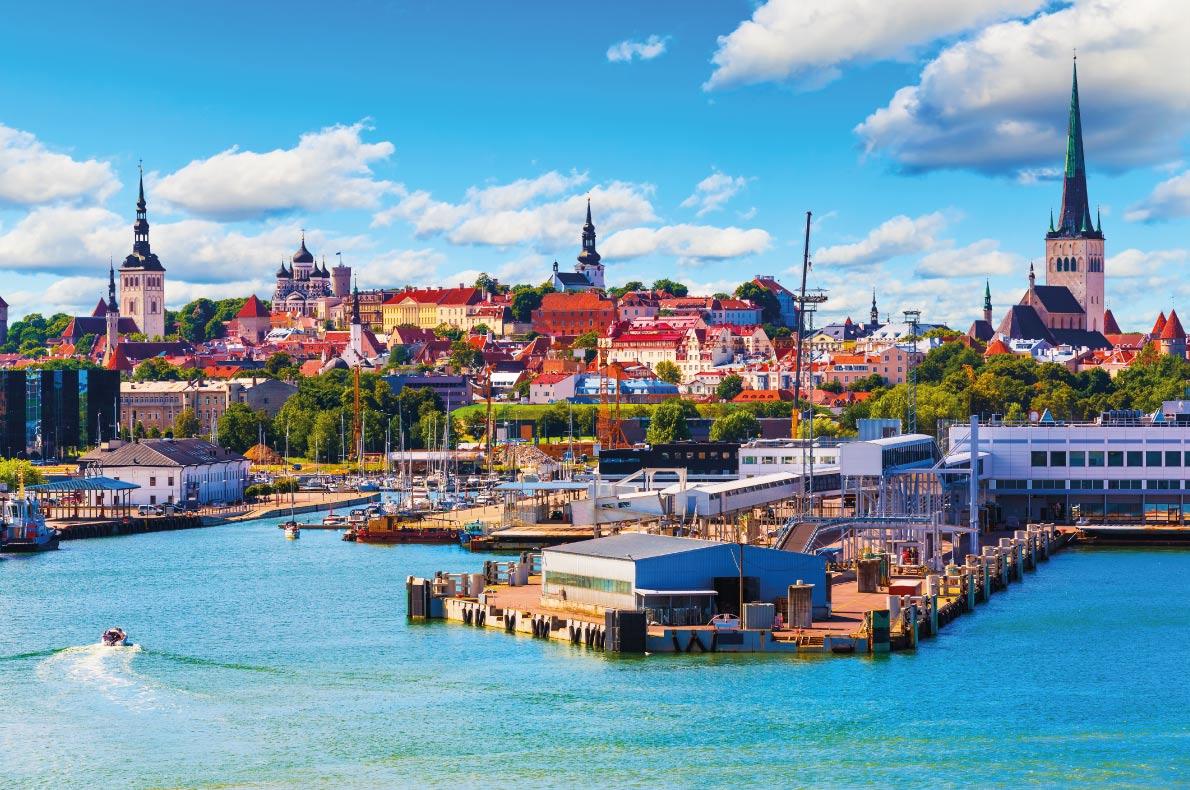 Safest destinations in Europe - Tallinn Copyright Scanrail1