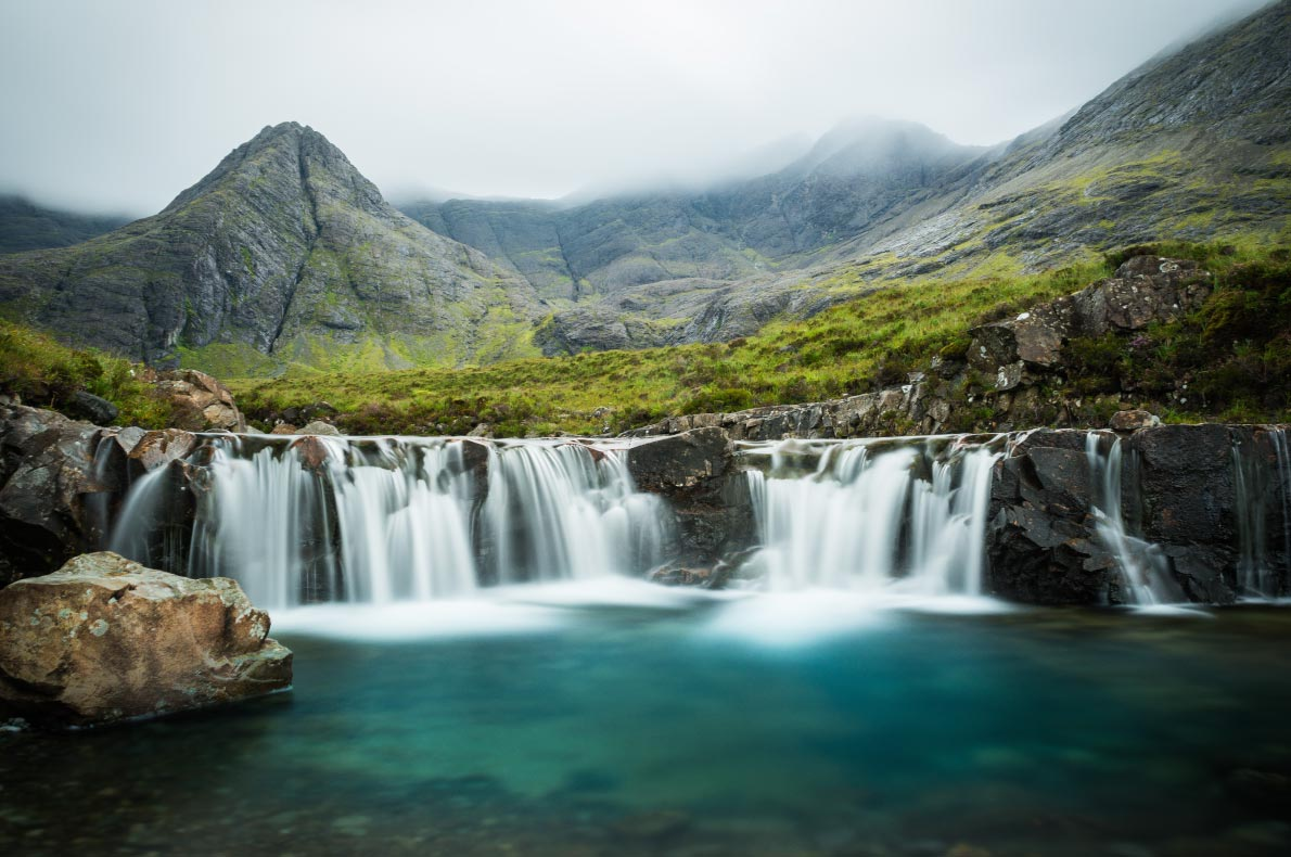 Best things to do in Scotland - Fair Pools Skye Island copyright  orxy- European Best Destinations