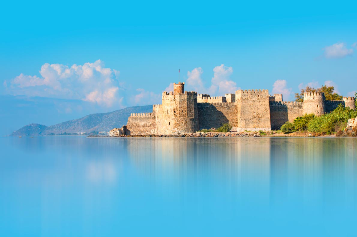 Best Castles in Turkey - Mamure Castle - Copyright muratart- European Best Destinations