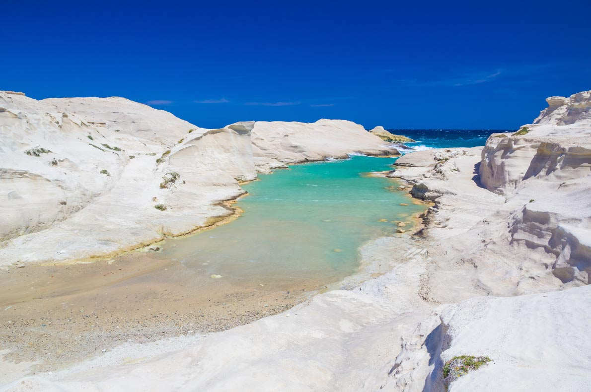 Best beaches in Europe - Sarakiniko beach copyright  Josef Skacel - European Best Destinations