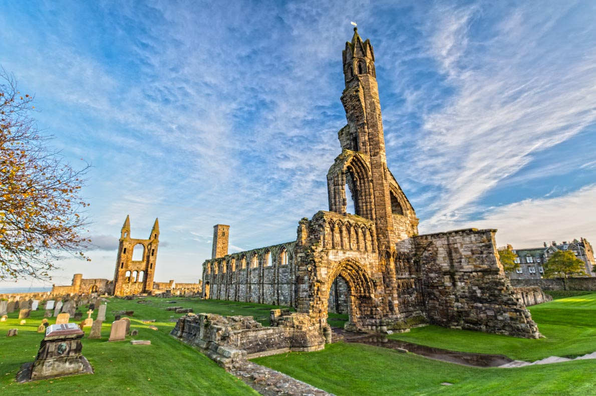 Best places to visit in Scotland - St Andrews copyright Susanne Pommer - European Best Destinations