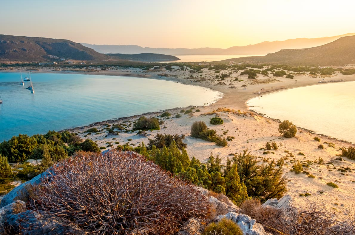 Best beaches in Greece - Simos beach - copyright Shutterstock - European Best Destinations