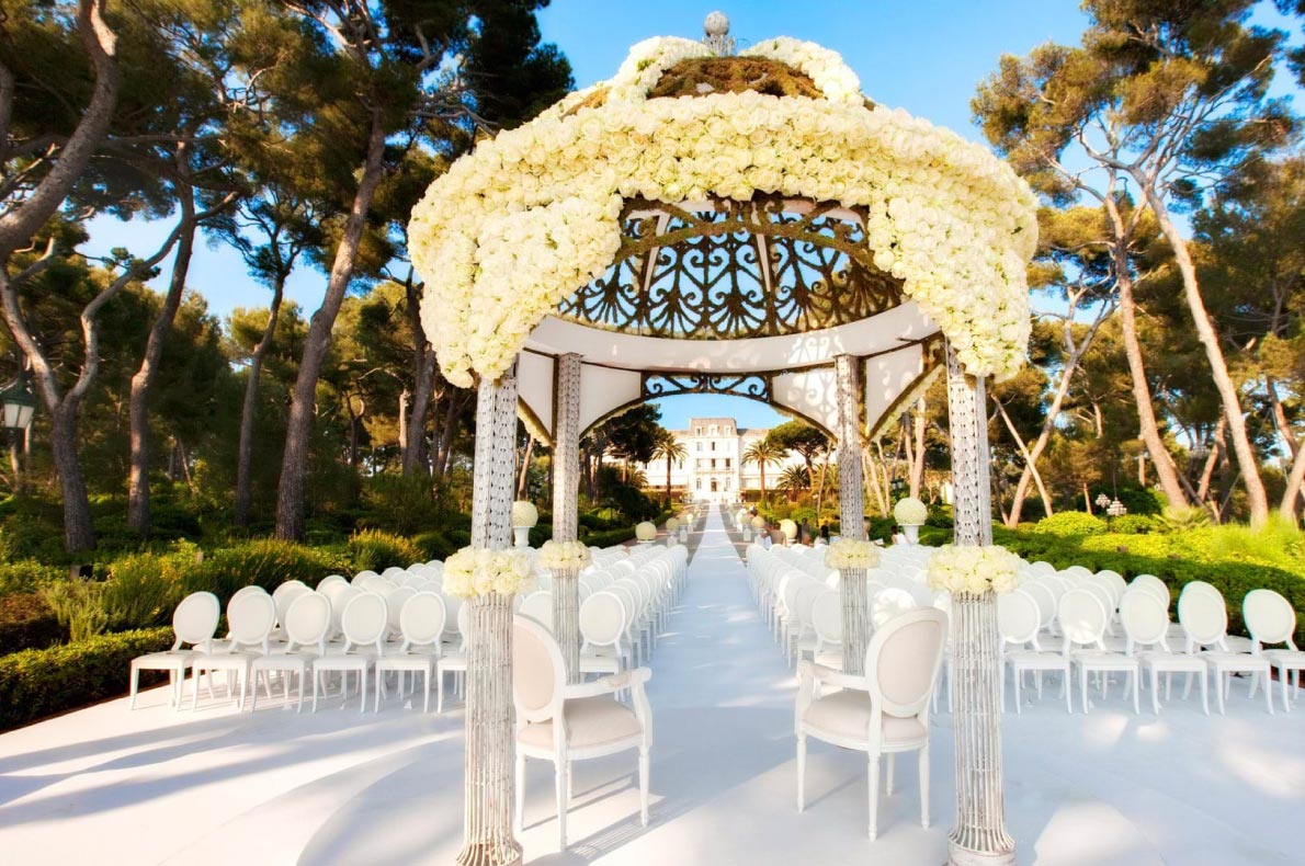 Best wedding venues in Europe - Hotel du Cap Eden Roc  - European Best Destinations