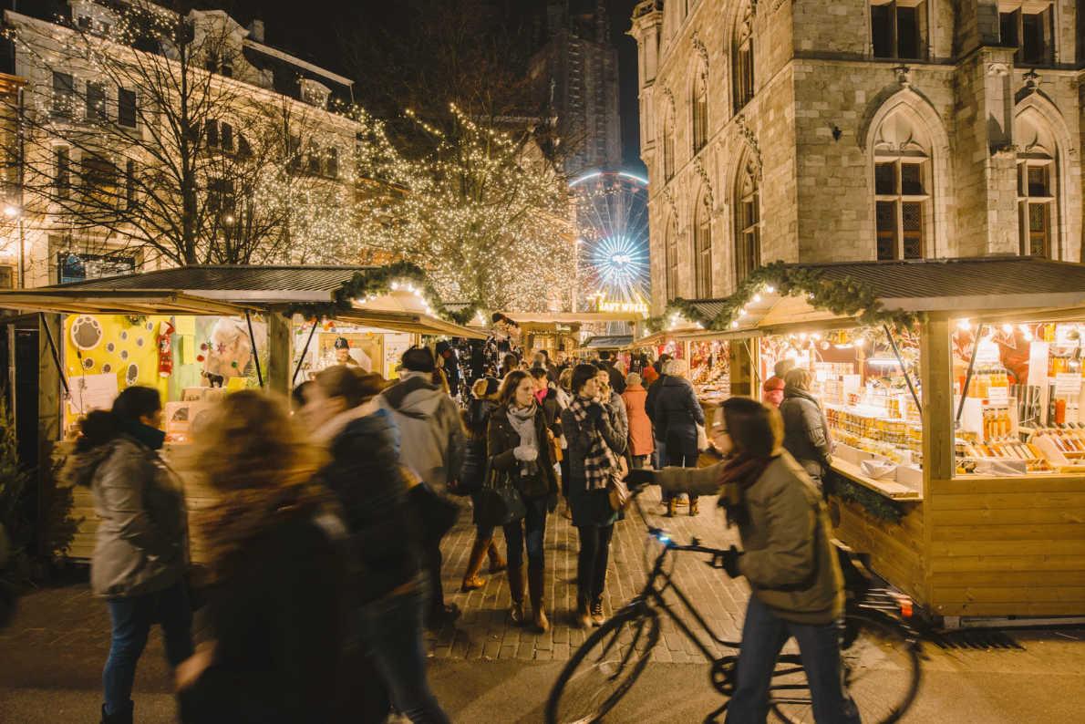 Ghent Christmas Market - Copyright Visit Ghent  - European Best Destinations