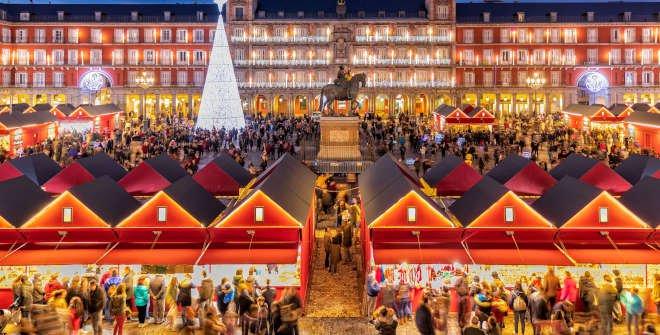 Madrid Christmas Market - Copyright Madrid Turismo