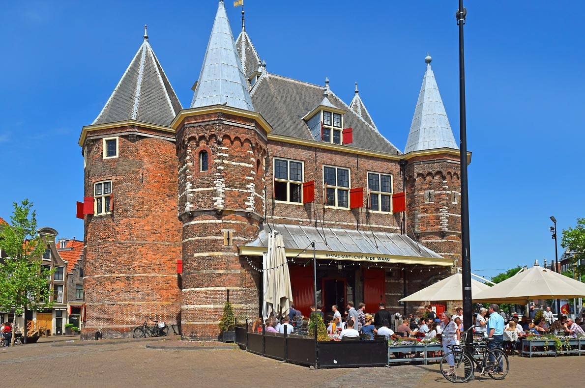 Best castles in The Netherlands -  The Waag Castle - Copyright  irisphoto - European Best Destinations