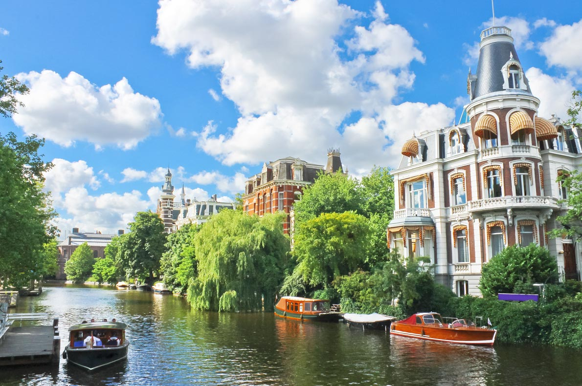Amsterdam - Best destinations for springtime in Europe - Copyright Pigprox