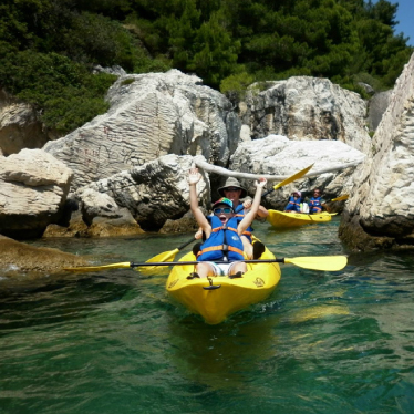 Split Kayaking Tour