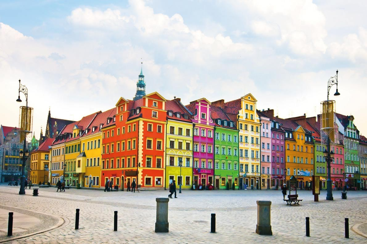 Colorful destinations in Europe  - Wroclaw  - Best colorfull destinations in Europe - Copyright  Pablo77 - European Best Destinations