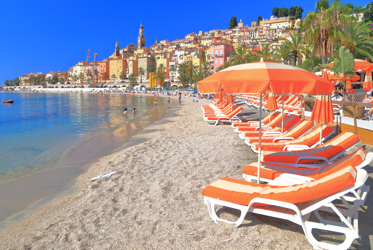 French Riviera - Menton - Best places to get retired in Europe - Copyright Inu - European Best Destinations