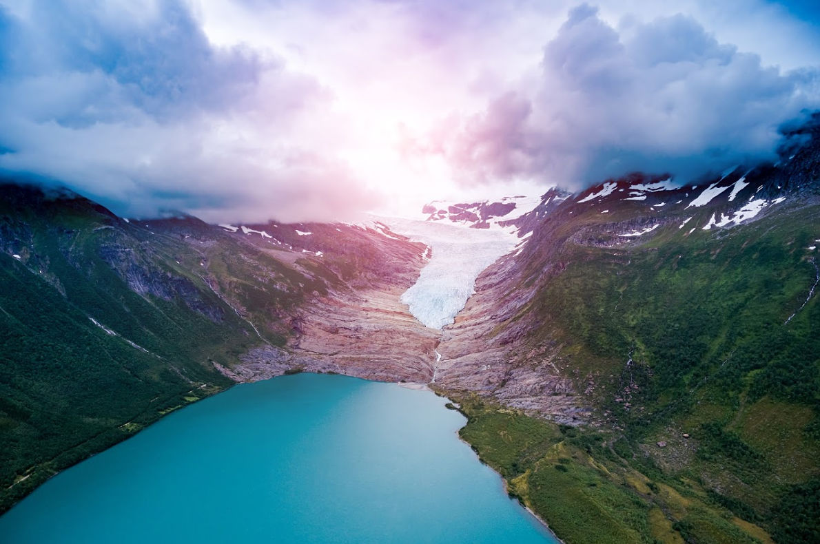 Svartissen Glacier in Norway - Best trekking destinations in Europe - Copyright Andrey Armyagov - European Best Destinations
