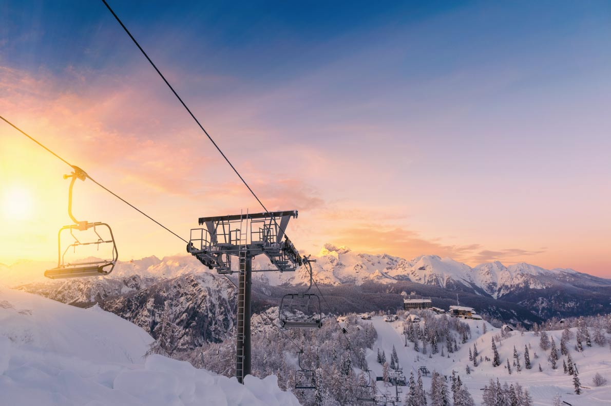 Cheapest Ski Resorts in Europe - Vogel in Slovenia - Copyright  Fesus Robert