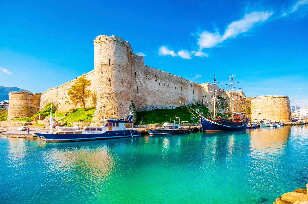Best Castles in Turkey -  Kyrenia Castle - Copyright Nejdet Duzen - European Best Destinations