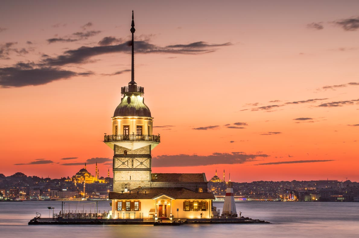 Best things to do in Turkey - Maiden Tower - Copyright Mehmet Cetin - European Best Destinations
