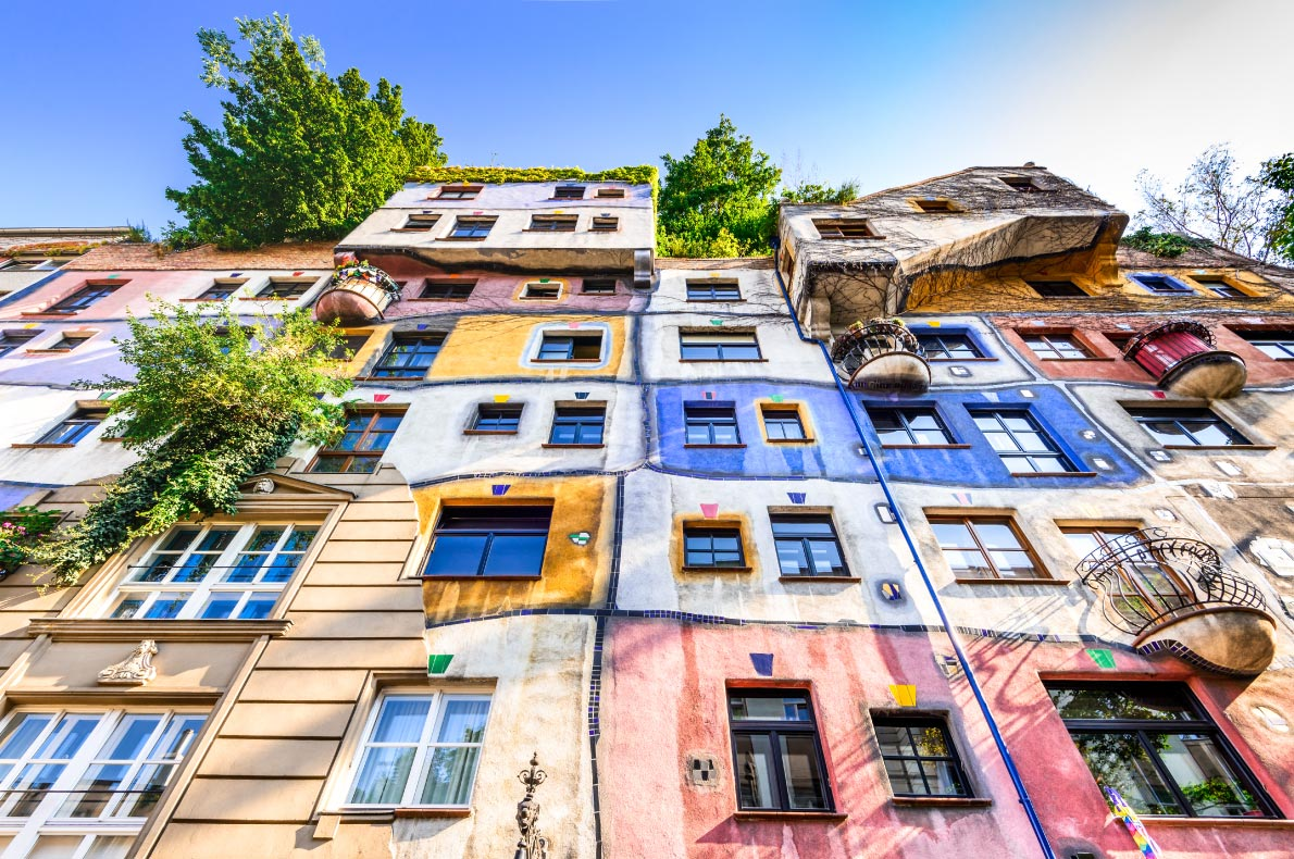 Best things to do in Vienna - Hundertwasser House - Copyright cge2010 - European Best Destinations