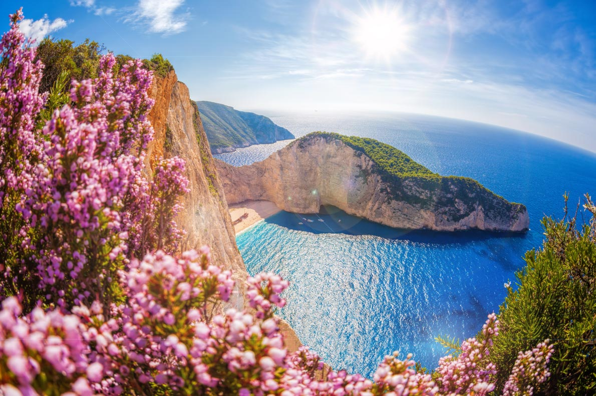 Best beaches in Greece - Navagio beach copyright  Samot   - European Best Destinations