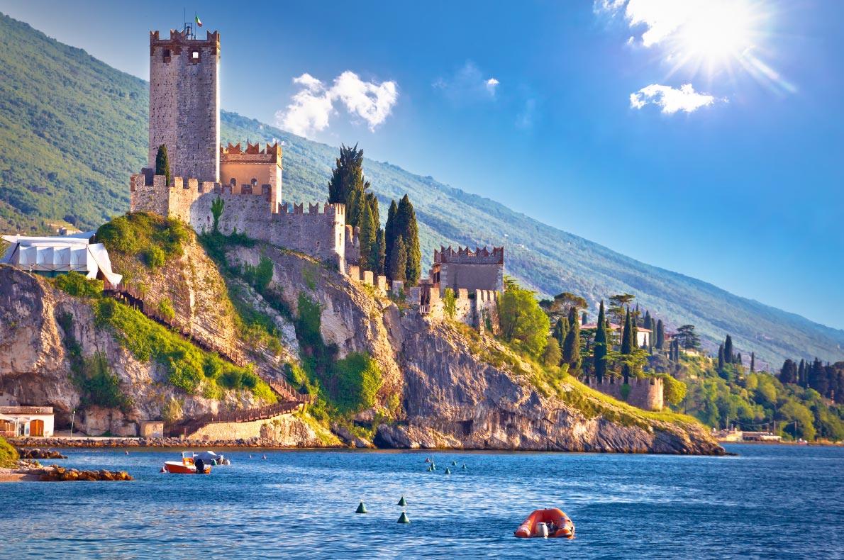 Best castles in Italy - Malcesine Castle Copyright  xbrchx - European Best Destinations