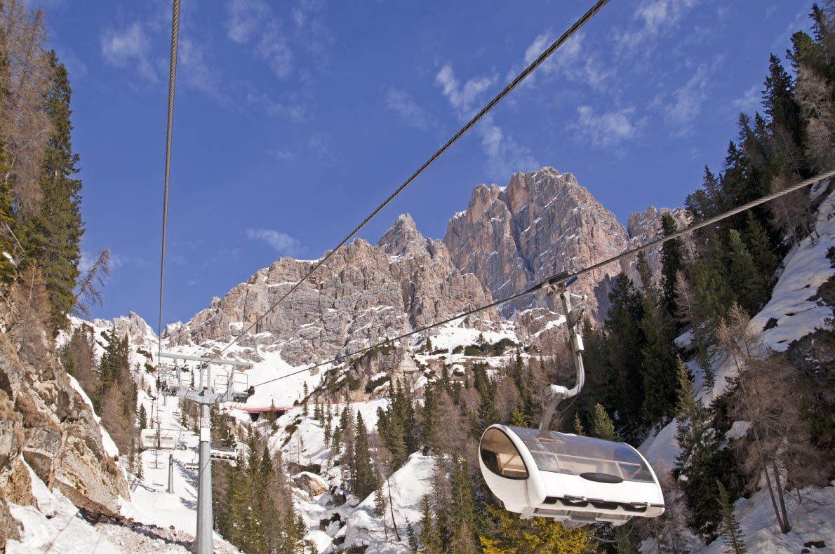 Luxurious ski resorts - Cortina d'Ampezzo in the Dolomites - Copyright Boerescu  - European Best Destinations