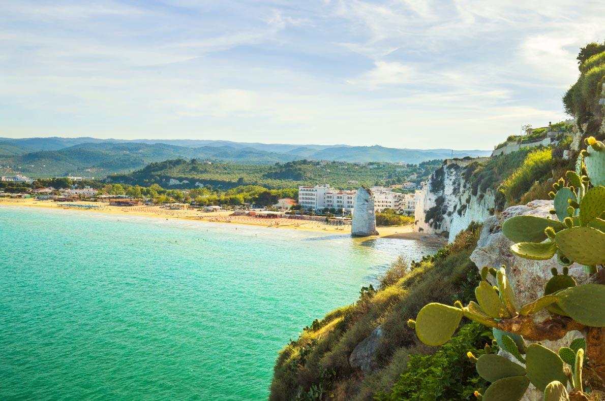 Best beaches in Italy - Pizzomunno Beach Copyright   elitravo - European Best Destinations