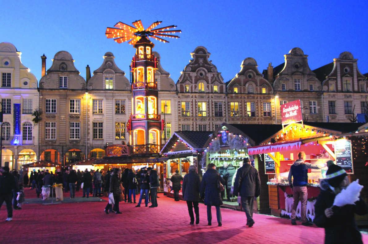 Best Christmas Market in France - Arras Christmas Market - European Best Destinations