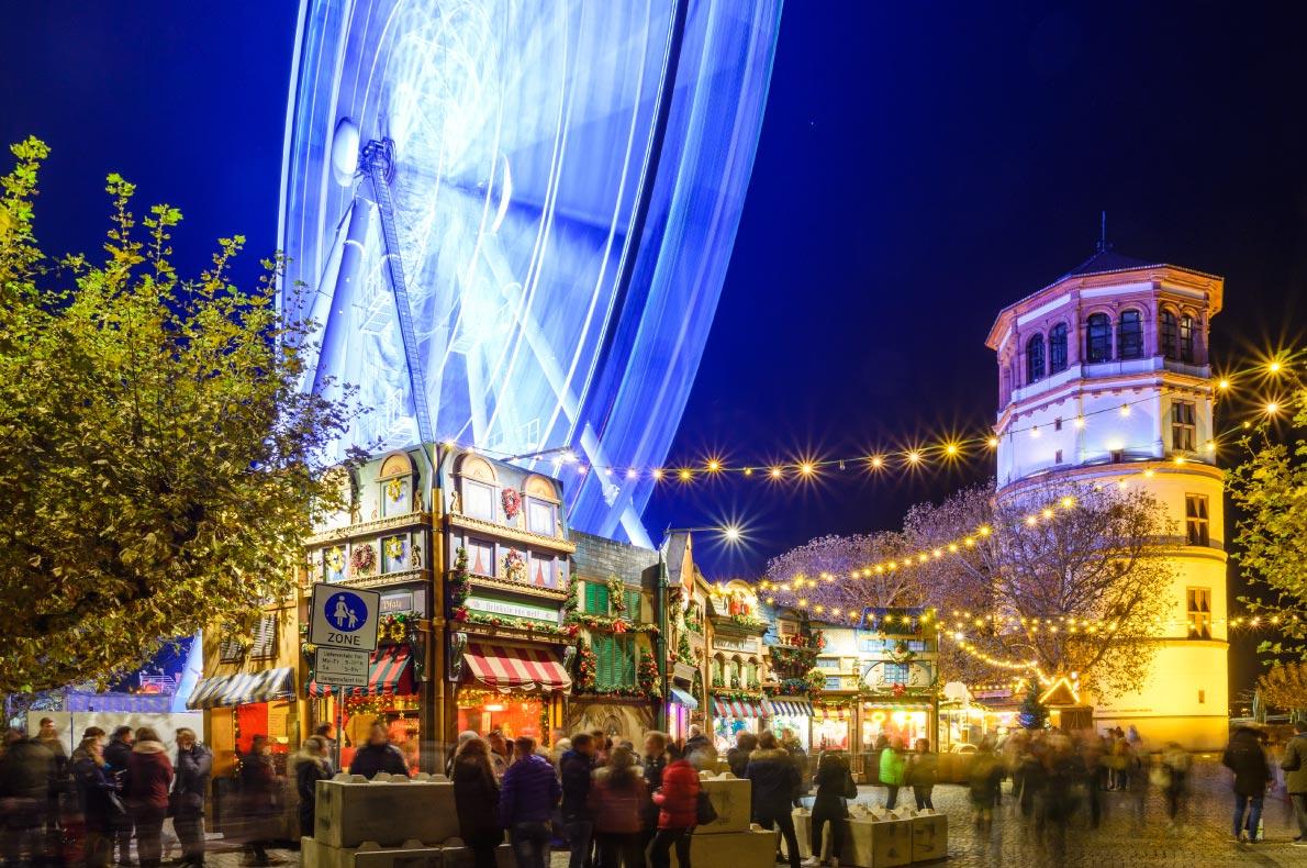 Covid 19 - Safest Christmas Markets in Europe - Dusseldorf Christmas Market - Copyright Peeradontax -  European Best Destinations