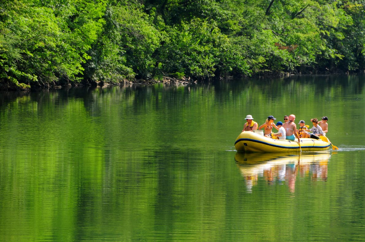 Best sustainable destinations for outdoor sports - River Kolpa - Copyright River Kolpa  - European Best Destinations