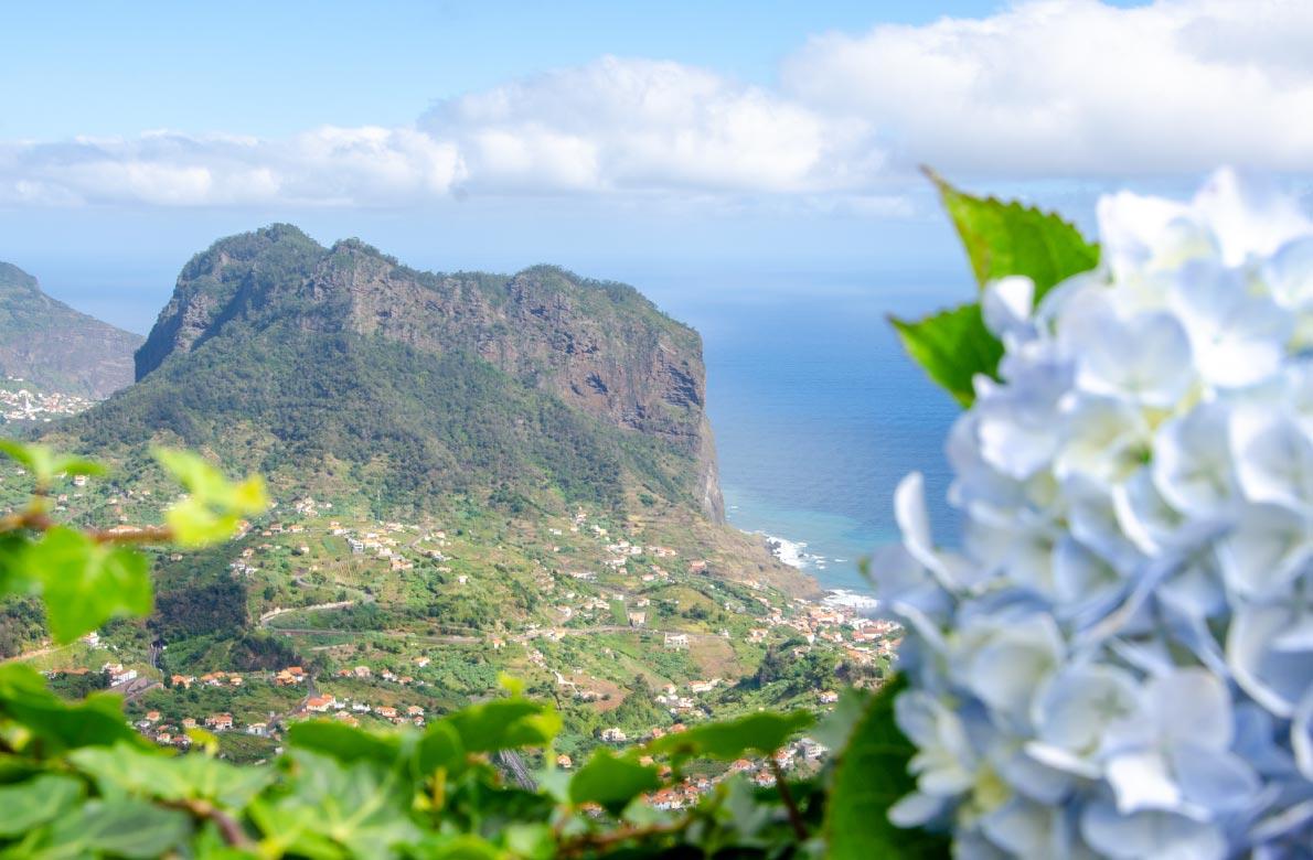 Miradouro da Portela viewpoint Madeira