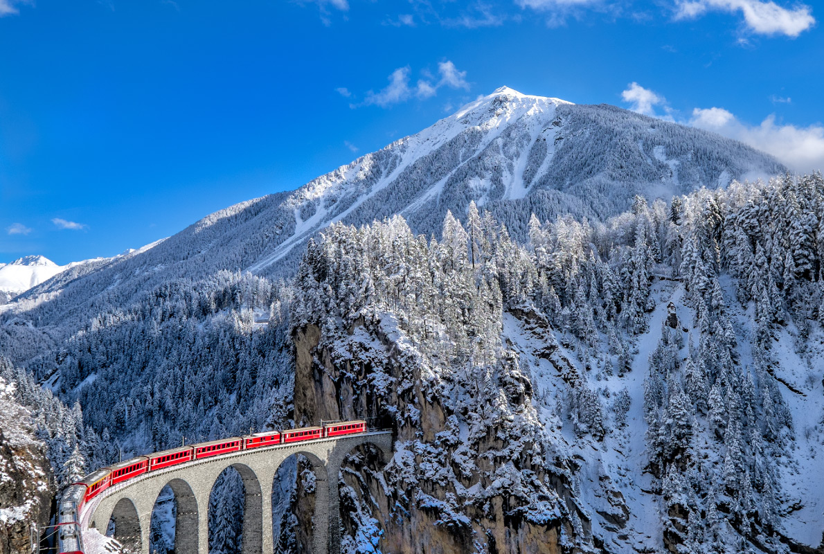 Best destinations to visit by train - Glacier Express Copyright Alessandro Colle - European Best Destinations
