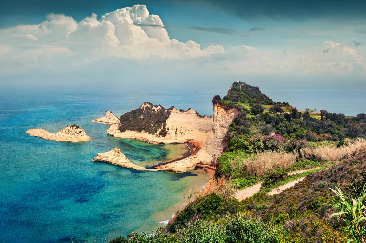 Best natural wonders in Greece - Cape Drastis copyright  Andrew Mayovskyy - European Best Destinations
