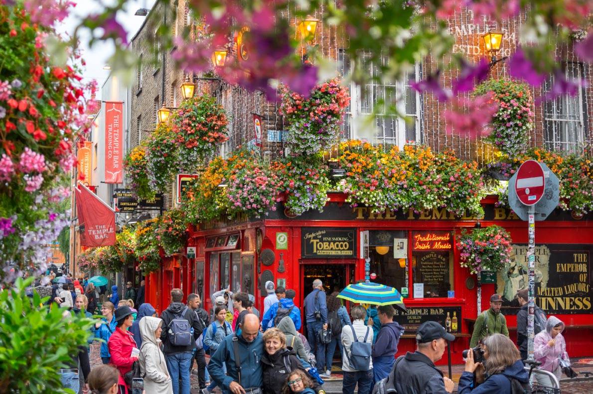 Best places to visit in Ireland - Dublin  - Copyright Shutterstock Editorial Mirelaro - European Best Destinations