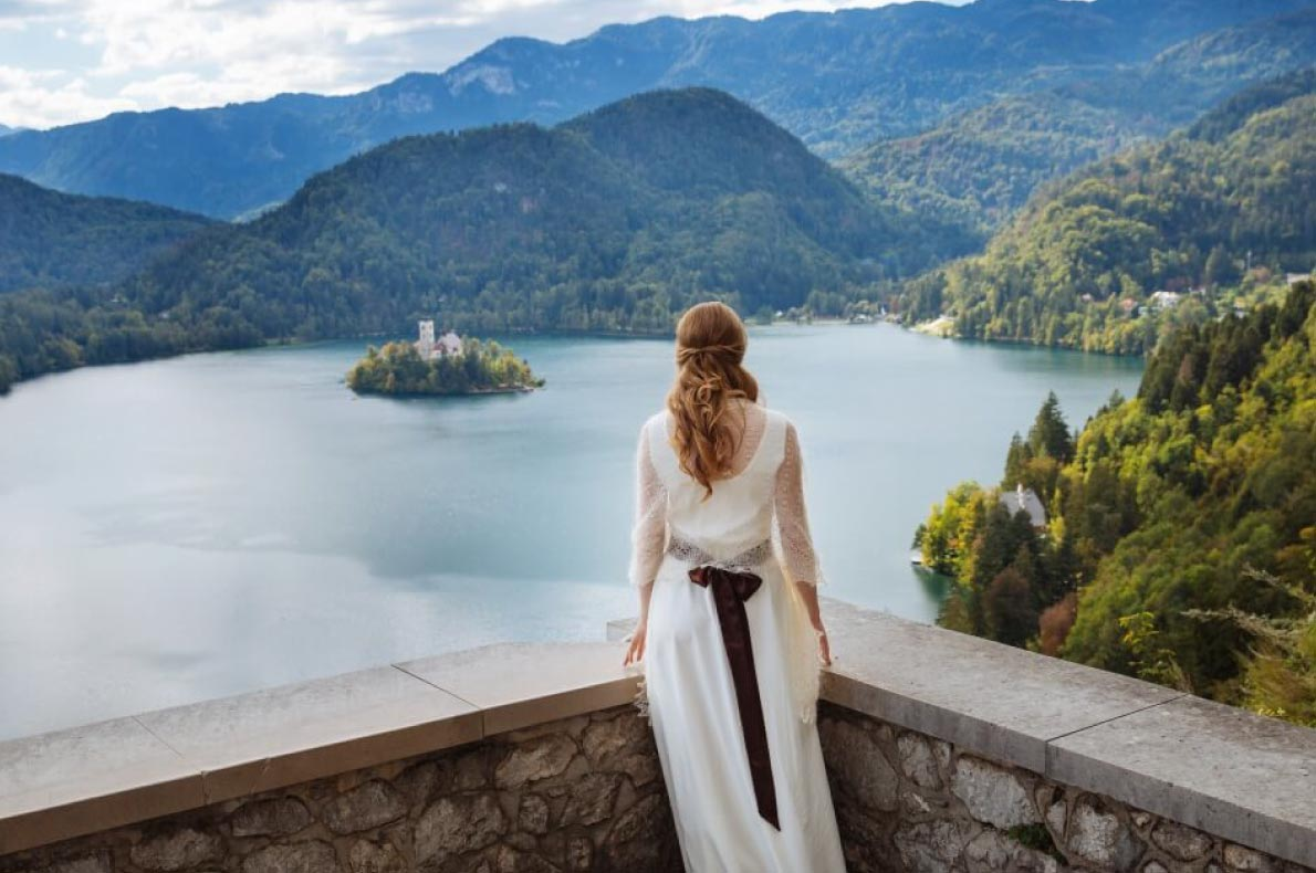 Best wedding venues in Europe - Bled Castle Wedding copyright WedElf - European Best Destinations