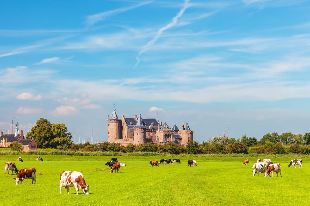 Best castles in The Netherlands - Muiden Castle - Copyright DutchScenery  European Best Destinations