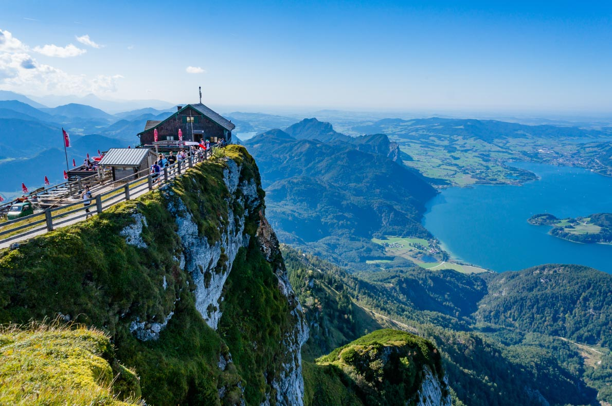 Best hidden gems in Austria - Schafberg peak - Copyright Jaksuthep Teekul - European Best Destinations