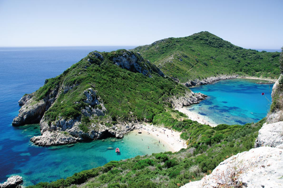 Corfu Paradisiacal destinations in Europe Copyright foodografie