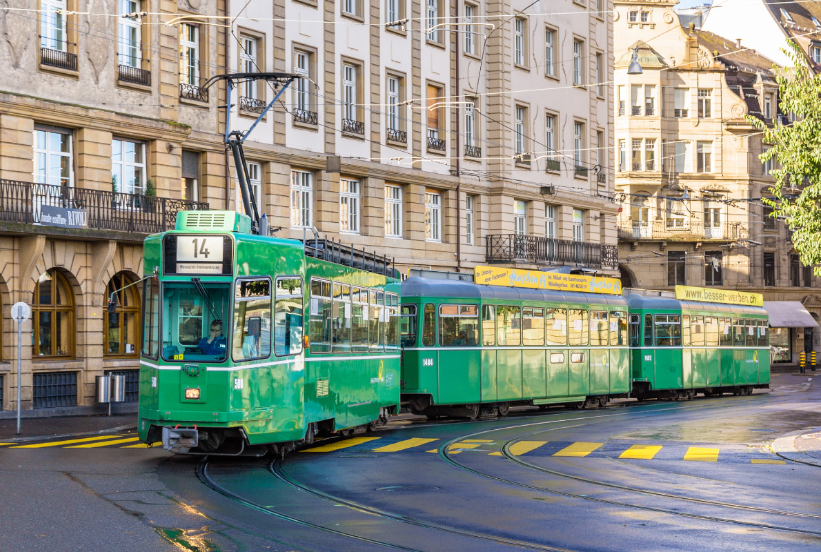 Best trams in Europe - Basel Tram Copyright Leonid Andronov - Shutterstock - European Best Destinations